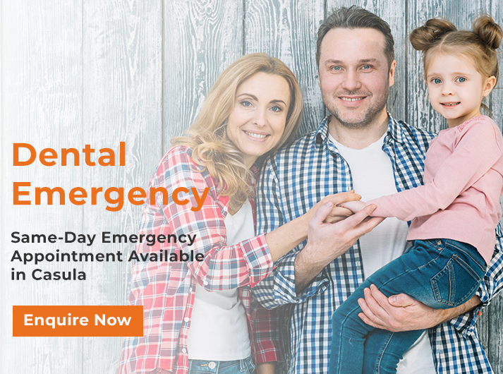 dental emergency banner home casula